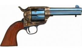 "Cimarron MP512C00 P-MODEL .45LC 4.75"" FS CC/CHARCOAL Blued Walnut Revolver"