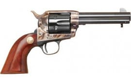 "Cimarron MP685 P-MODEL .38/40 FS 4.75"" CC/BLUED Walnut Revolver"