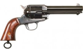 "Cimarron CA155 1890 Remington .45LC FS 5.5"" Blued Walnut Revolver"