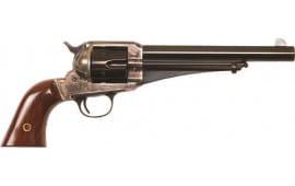 """Cimarron CA153 1875 Outlaw .44/40 FS 7.5"""" CC/BLUED Walnut Revolver"""