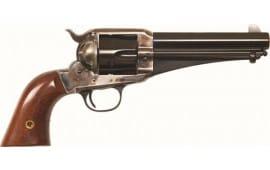 """Cimarron CA167 1875 Outlaw .44/40 FS 5.5"""" CC/BLUED Walnut Revolver"""
