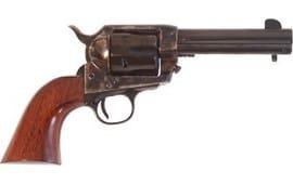 """Cimarron PP512 Frontier .45LC OM FS 4.75"""" CC/BLUED Walnut Revolver"""