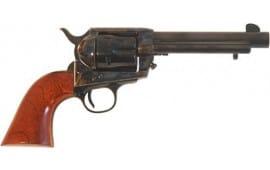 """Cimarron PP503 Frontier .357 OM FS 5.5"""" CC/BLUED Walnut Revolver"""