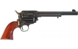 """Cimarron PP504 Frontier .357 OM FS 7.5"""" CC/BLUED Walnut Revolver"""