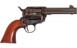 "Cimarron PP420 Frontier .44/40 WIN. PW FS 4.75"" CC/BLUED Walnut Revolver"