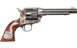"Cimarron MP411SSI01 MAN w/NO Name .45LC Frontier 5.5"" CC/BL w/INLAY Revolver"