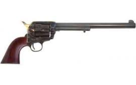 "Cimarron PP558P Wyatt Earp .45LC OM FS 10"" CC/BL Walnut w/O Badge Revolver"
