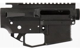Rise Armament STR2BLK Striker AR15 Receiver Black Hardcoat Anodized