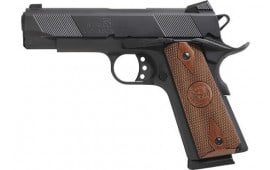 "Iver Johnson Arms IJ08 Johnson 1911A1 Hawk 4.25"" FS 8rd Matte"