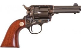 "Cimarron CA985 Model P JR .38 SPL FS 3.5"" CC/BLUED Walnut Revolver"