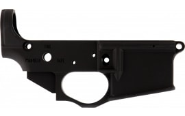 Spikes STLS031 Stripped Lower Viking AR Platform Rifle Black Hardcoat Anodized