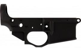Spikes STLS031 Stripped Lower Viking AR Platform Rifle Black Hardcoat Anodized