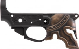 Spike STLB610-PH Billet Lower Stripped Spartn Painted
