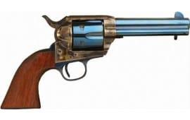 "Cimarron MP512C00 P-MODEL .45LC 4.75"" FS CC/CHARCOAL Blued Walnut Revolver"