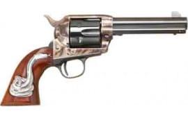 """Cimarron GMP410SSI01 MAN w/NO Name .45LC Frontier 4.75"""" CC/BL w/INLAY Revolver"""