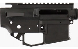 Rise Armament STR2BLK Striker AR15 Receiver Black Hardcoat Anodized