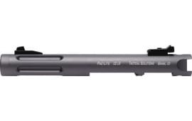 "Tactical Solutions PL45TEGMGRF Barrel PAC-LITE 4.5"" Ruger MK1-3 Gray/Gray Flutes"