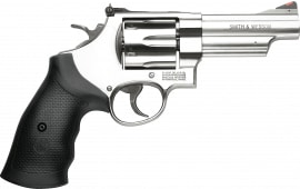 "Smith & Wesson 163603 629 .44MAG 4"" AS6rdStainless Rubber Revolver"