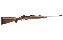 "Mossberg 27908 Patriot Bolt 338 Win Mag 22"" 4+1 AS Walnut Stock Blued"