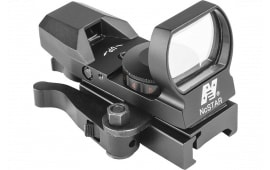 NC D4RGBQ Reflex Sight R&G 4-RETICLES