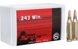 244440020 Geco 243 WIN TGT 105 GR - 20rd Box