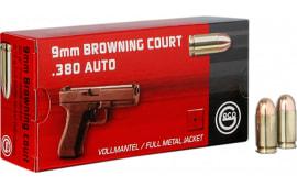 270540050 Geco 380 ACP FMJ 95gr BRN - 50rd Box