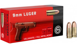 210040050 Geco 9mm 124 GR FMJ Hungary - 50rd Box