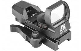NC D4RGBQ Reflex Sight R&G 4-RETICLES