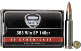 530840020 MFS 308 WIN 140 GR SP - 20rd Box