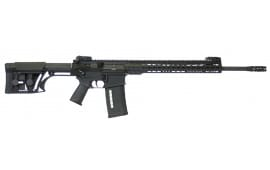 "ArmaLite AR10TAC20 AR-10 Tactical Rifle Semi-Auto 308 Winchester/7.62 NATO 20"" FH 25+1 MBUS MBA-1 Stock Black Hard Coat Anodized/Phosphate"