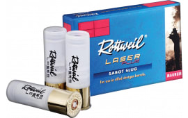 256840005 Rottweil Laser 12GA Mag2.75 - 5sh Box