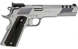 "Iver Johnson Arms GIJ37 Johnson Eagle XL Ported 6"" Adjustable Polished Chrome"