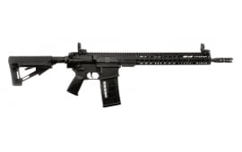 "ArmaLite AR10TAC16 AR-10 Tactical Rifle Semi-Auto 308 Winchester/7.62 NATO 16"" FS 25+1 MBUS Magpul STR Hard Coat Anodized/Phosphate"