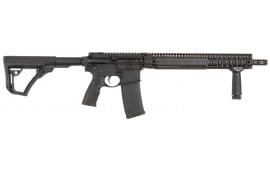 "Daniel Defense 15175055 DDM4 V9 *CA Compliant* Semi-Auto .223/5.56 NATO 16"" 10+1 6-Position Hard Coat Anodized/Black Phosphate"