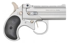 "Cobra Firearms / Bearman Long Bore Derringer 3.5"" Barrel .38Spl 2rd - Satin W/ Black Grips - LBG38SB"