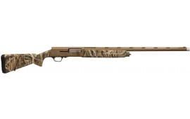 "Browning 0118412005 A5 Bolt 12GA 26"" 3.5"" Mossy Oak Shadow Grass Blades Synthetic Stock Aluminum Alloy Rcvr"