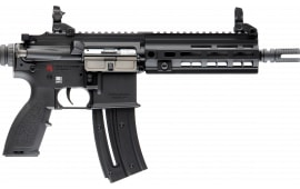 "Heckler and Koch 81000403 HK416 Pistol .22LR 8.5"" Barrel 20rd M-LOK Black BY Umarex"
