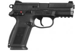 "FN FNX-9 Semi-Automatic Handgun 9mm Luger 4"" Barrel 17 Rounds Polymer Frame Stainless Steel Slide Black Finish 66822"