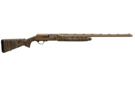 """Browning 0118472005 A5 Bolt 12GA 26"""" 3.5"""" Mossy Oak Bottomland Synthetic Stock Burnt Bronze Camo Receiver"""