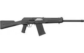 "SDS Imports LH12HFCBC Imports Lynx LH12 19"" 3"" 1-5rd MAG Chrome Bolt Black Shotgun"