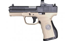 FMK Firearms G9C1EPRODSM Elite PRO Plus Usmc Bulldog Desert Sand