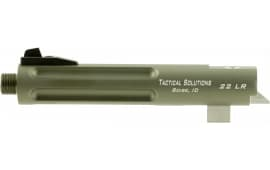 "Tactical Solutions TL55TERF04 Trail-Lite 22 Long Rifle 5.5"" OD Green"