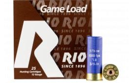RIO Ammunition Ammunition SGHV3275 12 2.75 11/8 SGHV 1350FPS - 250sh Case