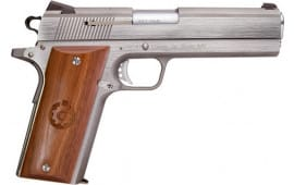 Coonan 100000005 Classic 5 SS FS Wood Grips (1) 7rd