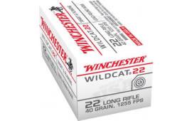 Winchester Ammo WW22LRB 22LR Wildcat Bulk - 500rd Box