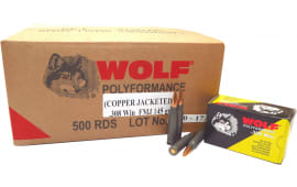 Wolf 308CFMJ 308 FMJ CP 145 500 - 500rd Case