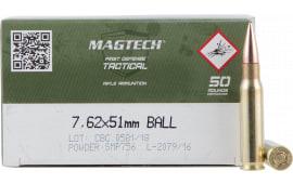 MagTech 762A 7.62X51 147 Grain M80 Ball 50/08 - 400 Round Case - MFG #762A