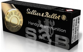 Sellier & Bellot SB460B 460SW 255 Jacketed Hollow Point - 20rd Box