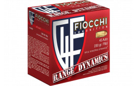 Fiocchi 45ARD 45A 230 FMJ Range PK - 600rd Case
