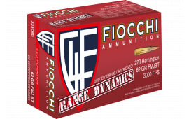Fiocchi 223CRD Range Dynamics .223/5.56 NATO 62 GR Full Metal Jacket Boat Tail - 1000rd Case
